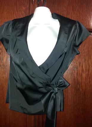 Нарядный пиджак жакет блуза сочного цвета на запах soner 46-48 р