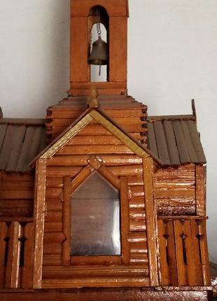 Деревянные макеты храмов