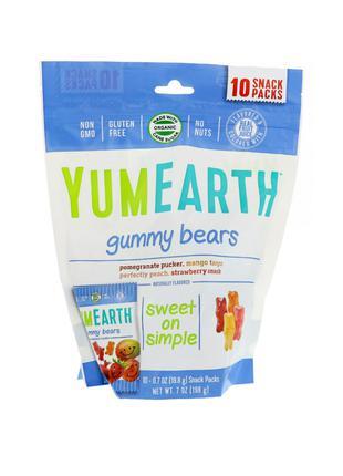 Органические, вкусные жевательные мишки для деток