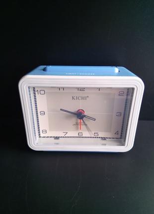 Часы будильник KICHI настольные