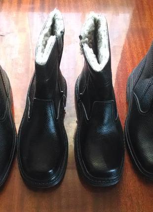Мужская зимняя обувь. размер 41 - 27 см. стелька