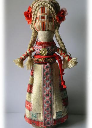 Украинская традиционная кукла-мотанка.
