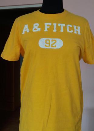 Яркая фирменная футболка abercrombie and fitch(сша),размер м
