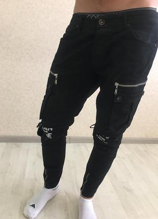New 2019 мужские джогеры, брюки, джинсы, узкачи.