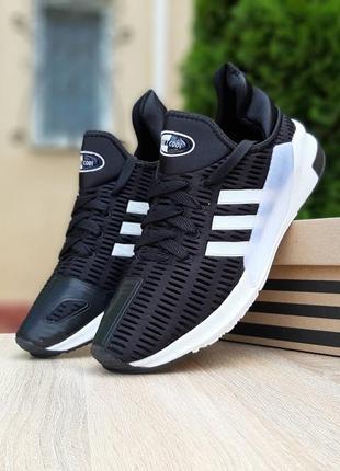 Прекрасные мужские кроссовки adidas climacool чёрные