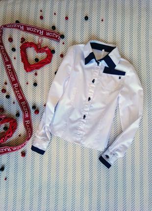 Рубашка- блузка на девочку