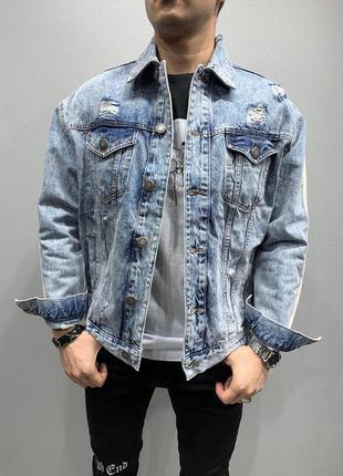 Очень стильная мужская джинсовка