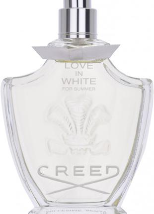 Creed love in white - eau de parfum 75 мл –тестер (без крышки)