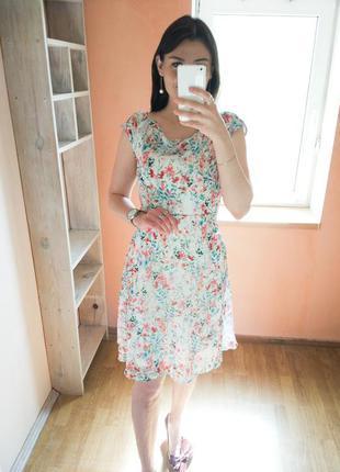 Платье-миди на подкладке orsay