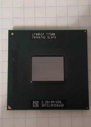 Процессор Intel® Core™2 Duo T7500, новый.