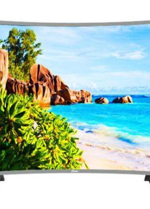 Телевизор Comer 32 изогнутый E32DU1000 Smart + T2 Смарт Android 7