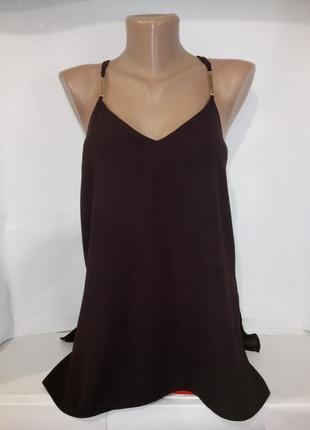 Красивая стильная блуза майка river island uk 8/36/xs