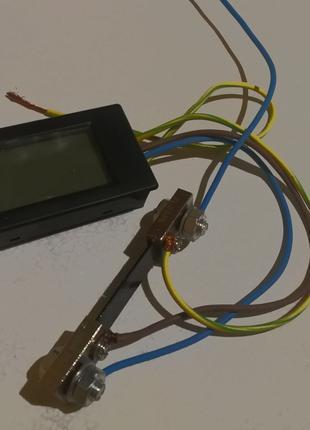 Ваттметр постоянного тока PZEM-051 DC 6.5-100В шунт 100А