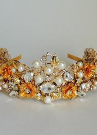 Шикарная корона в стиле дольче.
