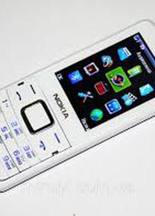Nokia 611- 2 sim , бел