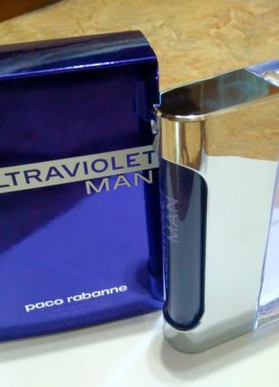 Paco Rabanne Ultraviolet Man_Оригинал EDT_7 мл затест туал.вода