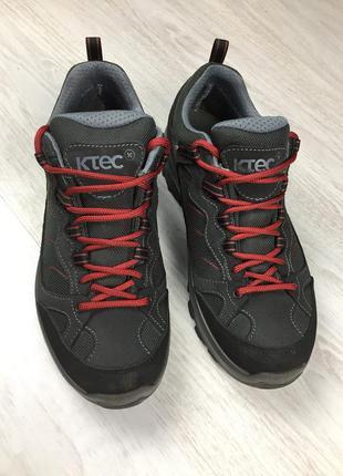 Крутые фирменные треккинговые кроссовки k-tec на мембране mamm...