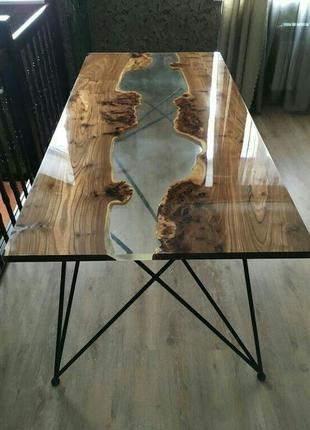 Столы из эпоксидной смолы (столешницы)