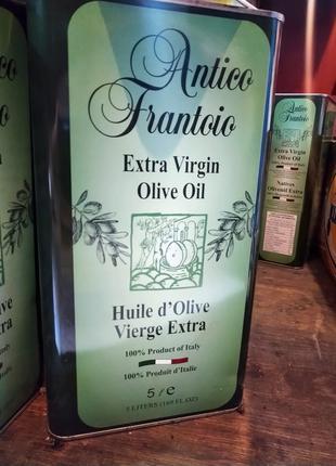5 л оливковое масло итальянского производства