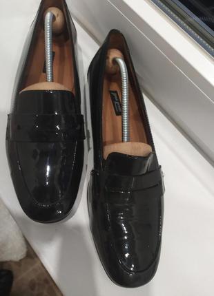 Paul green лоферы туфли лаковые оксфорды мокасины
