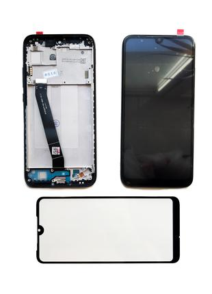 Xiaomi Redmi 7 дисплейный модуль с рамкой (экран + тачскрин+рамка