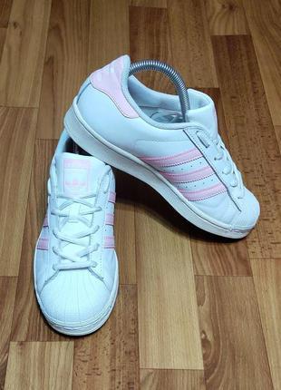 Кроссовки adidas originals superstar (24,5 см)
