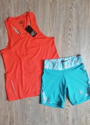 Комплект для бега, занятий спортом фитнесом майка и шорты crivit
