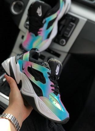 Стильные женские кроссовки nike m2k tekno