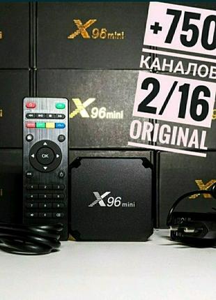 X96 mini 2/16 Налаштована смарт приставка