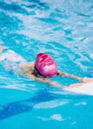 Доска с ручками для обучения плаванию. Для детей 3+ и взрослых