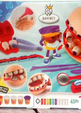 Тесто для лепки Дантист 2534 Danko Toys