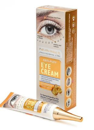 Крем для кожі вокруг глаз wokali anti-puff eye cream gold