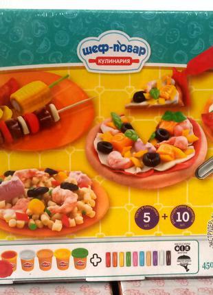 Тесто для лепки Шеф-повар Кулинария 2220 Danko Toys