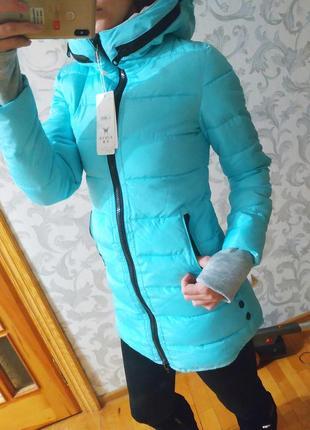 Пальто куртка зима, L