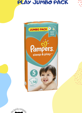 Детские подгузники PAMPERS Sleep & Play Jumbo pack