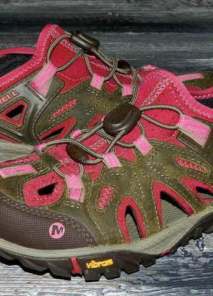 Merrell all out ! оригинальные, стильные, надежные сандалии-бо...
