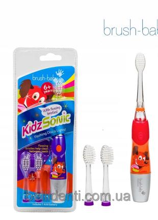 Электрическая зубная щетка Brush-Baby KidzSonic (от 6 лет),
