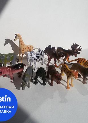 Набор фигурок животных Battat Дикие животные 12 шт.