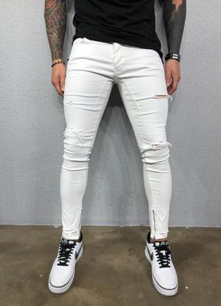 Мужские джинсы, джинсы зауженные