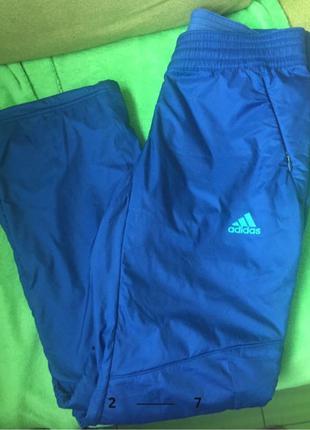 Adidas спортивные тёплые штаны