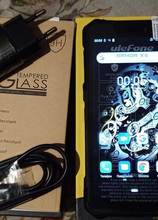 Ulefone Armor X5 4G (5.5 HD+(18.9) IP68/IP69K-3GB/32GB-(NFC)+СКЛО