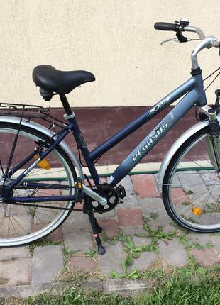 Велосипед шоссейный-полудамка-Pegasus
