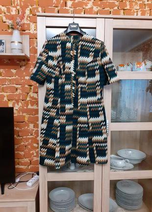 Изумительное платье рубашка большого размера