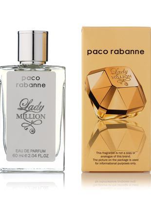 Paco Rabanne Lady Million мини-парфюм женский 60мл