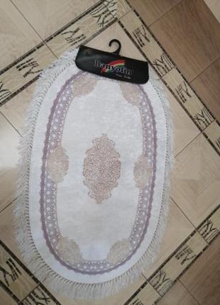 Набор ковриков овал, 100*60,60*50. коврики в ванную