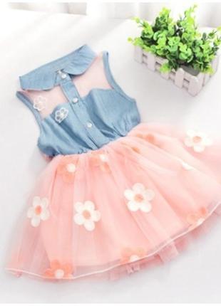 Снова в наличии! милое летнее платье девочке
