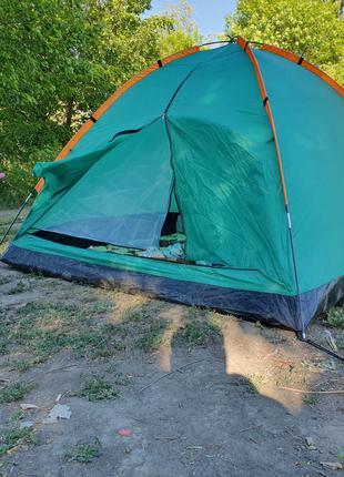 Палатка 3 местная 210х210х130 pavillo