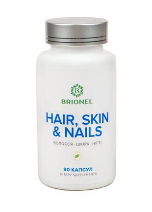 Фитокомплекс для Волосы, кожа, ногти, Brionel, 90 капсул