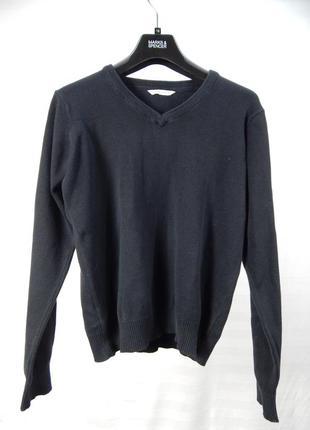 Кофта - пуловер школьный для мальчика 13-14 лет