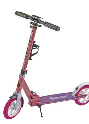Самокат Scooter Scale Sports SS-05 розовый